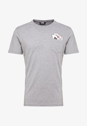 CREWNECK - T-shirt imprimé - grey