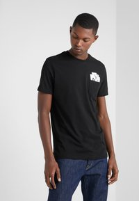 KARL LAGERFELD - CREWNECK - T-Shirt print - black - 0
