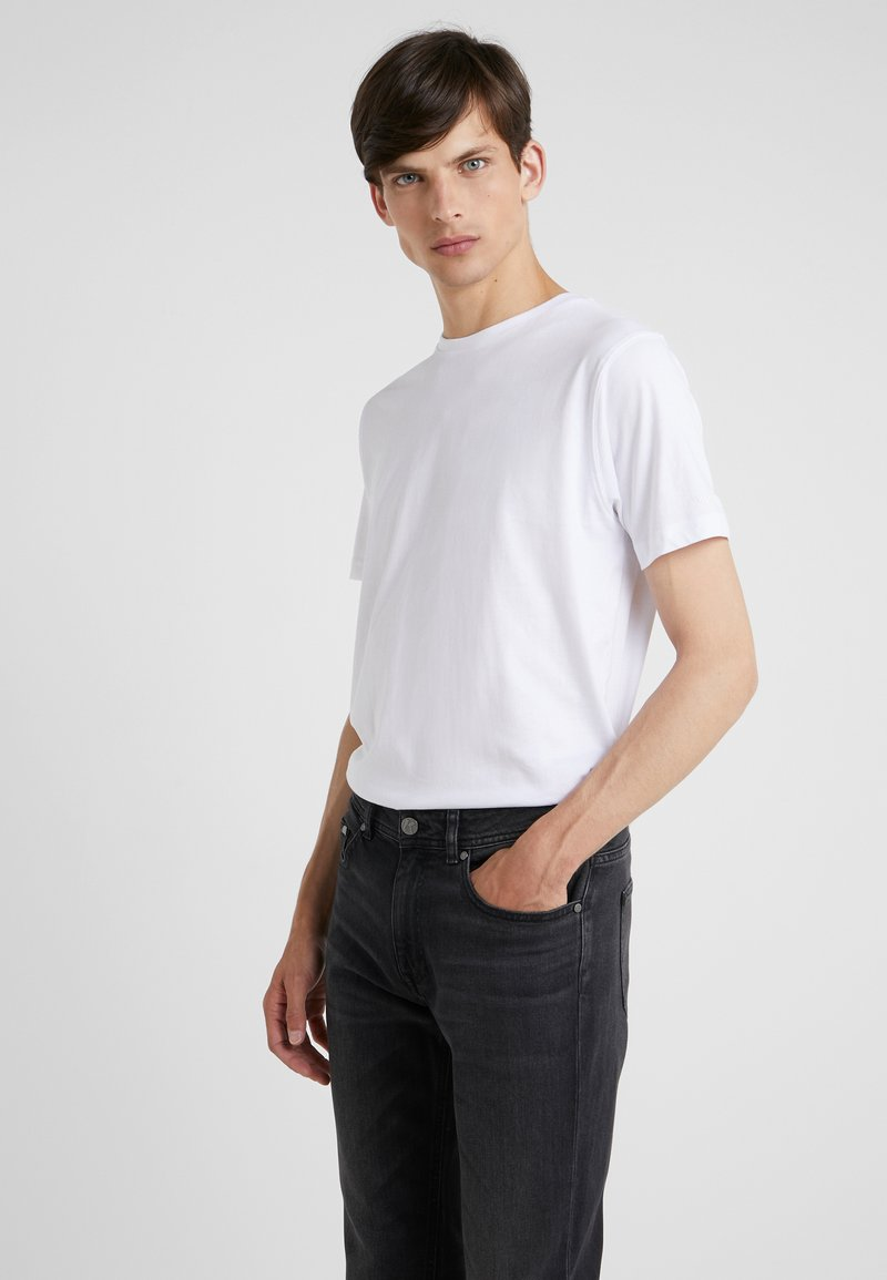 KARL LAGERFELD - CREW NECK 2 PACK - Camiseta básica - white