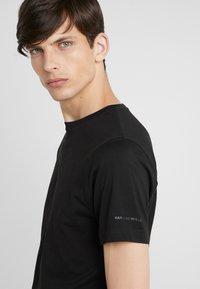 KARL LAGERFELD - CREW NECK 2 PACK - T-shirt basic - black - 4