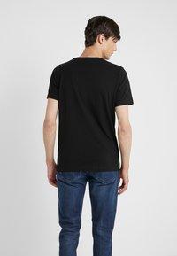 KARL LAGERFELD - CREW NECK 2 PACK - T-shirt basic - black - 2