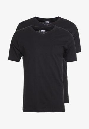 DUO 2 PACK - T-shirt basic - black