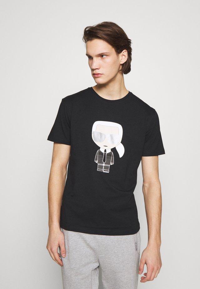 CREWNECK - T-Shirt print - black