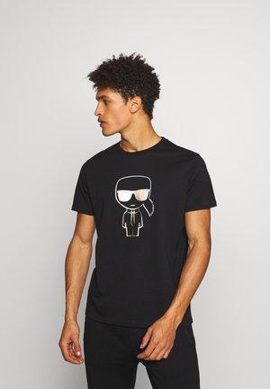 IKONIK RAINBOW - T-Shirt print - black