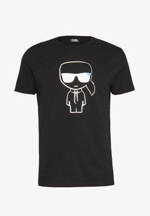 IKONIK RAINBOW - Print T-shirt - black