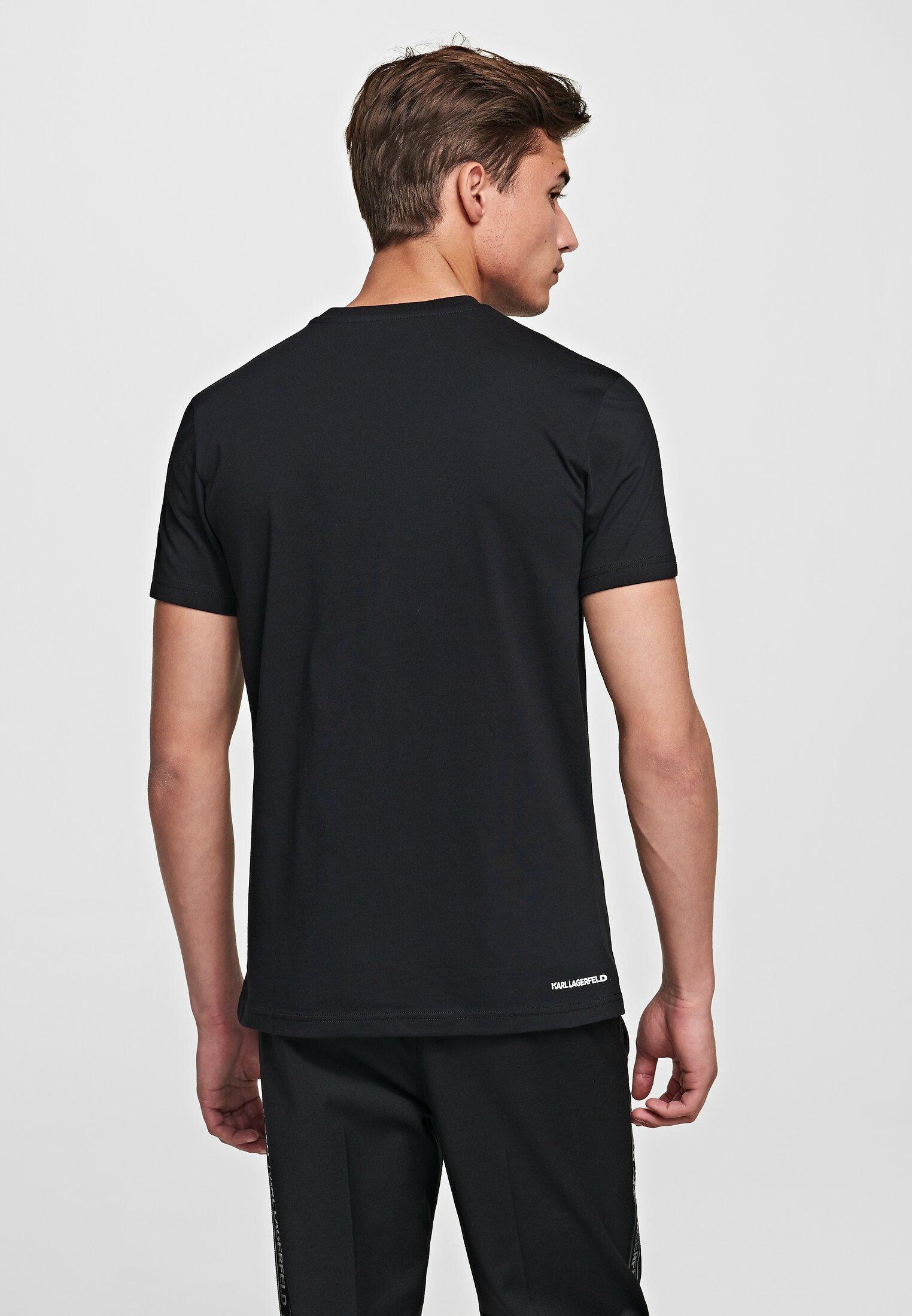 Karl Lagerfeld Ikonik - T-paita Black