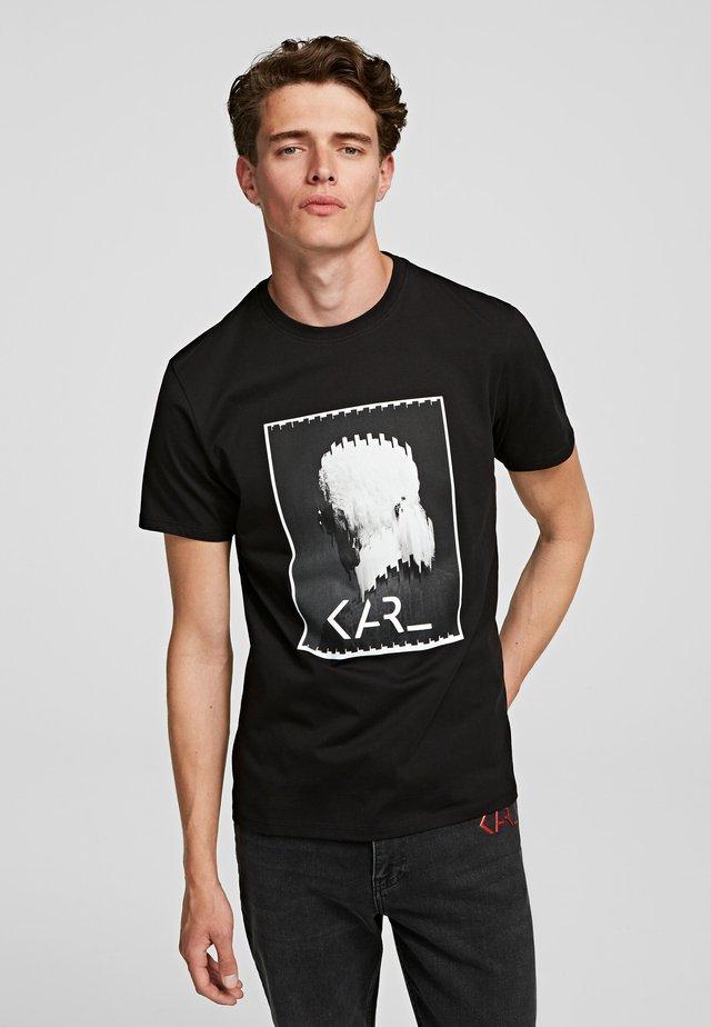 LEGEND LOGO  - T-shirt imprimé - black