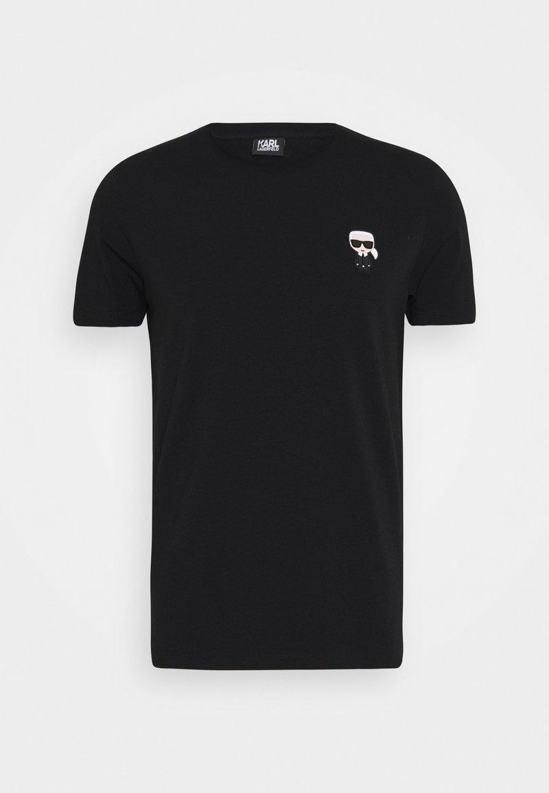 KARL LAGERFELD - CREWNECK - T-Shirt print - black