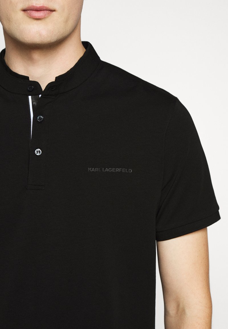 KARL LAGERFELD T-shirts med print - black