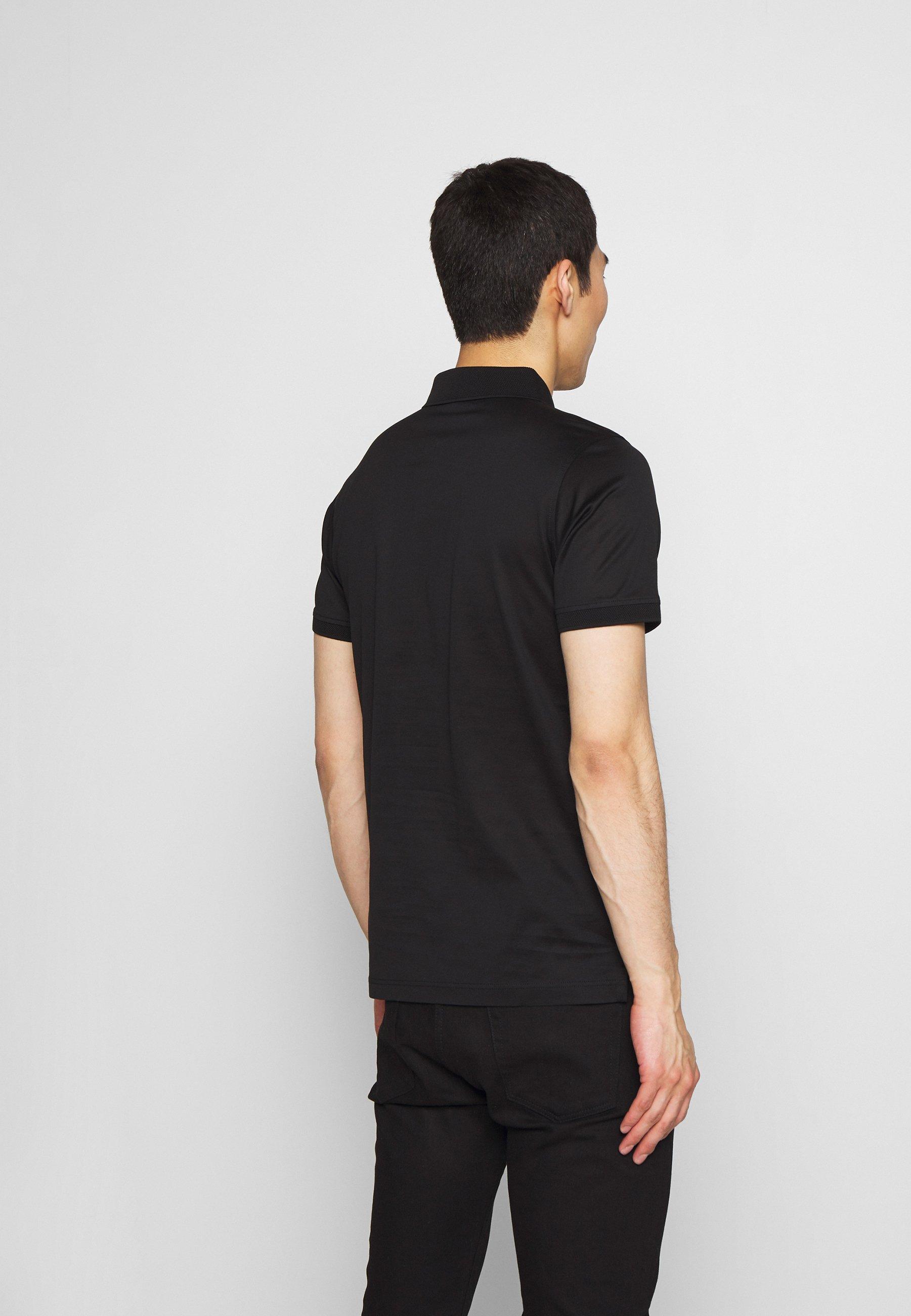Karl Lagerfeld Press Button - Piké Black