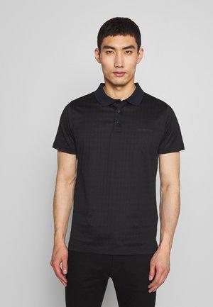 Polo shirt - navy/black