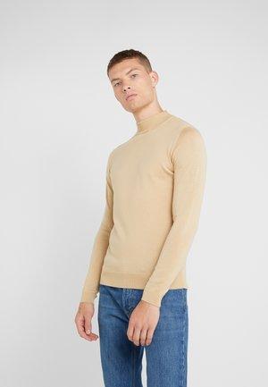 TURTLENECK - Pullover - sand