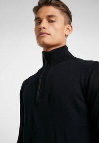 KARL LAGERFELD - TROYER - Stickad tröja - black - 4
