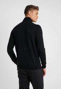 KARL LAGERFELD - TROYER - Stickad tröja - black - 2