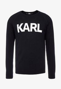 KARL LAGERFELD - CREWNECK - Pullover - black - 4