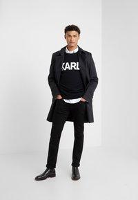 KARL LAGERFELD - CREWNECK - Pullover - black - 1