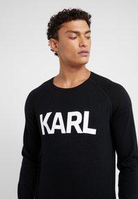 KARL LAGERFELD - CREWNECK - Pullover - black - 5