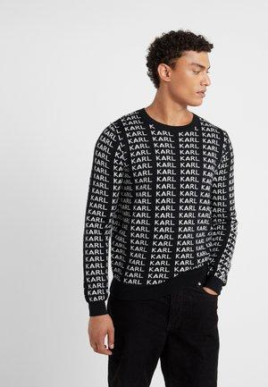 CREWNECK  - Sweter - black