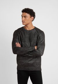 KARL LAGERFELD - KNIT CREWNECK  - Pullover - carbon - 0