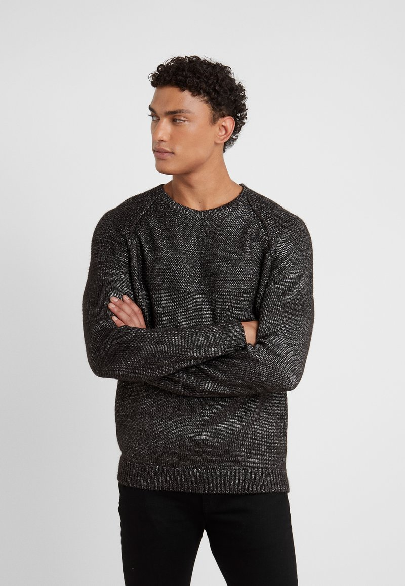 KARL LAGERFELD - KNIT CREWNECK  - Pullover - carbon