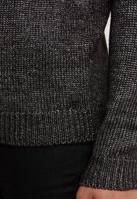 KARL LAGERFELD - KNIT CREWNECK  - Pullover - carbon - 3