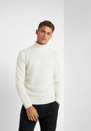 ROLLNECK - Pullover - offwhite