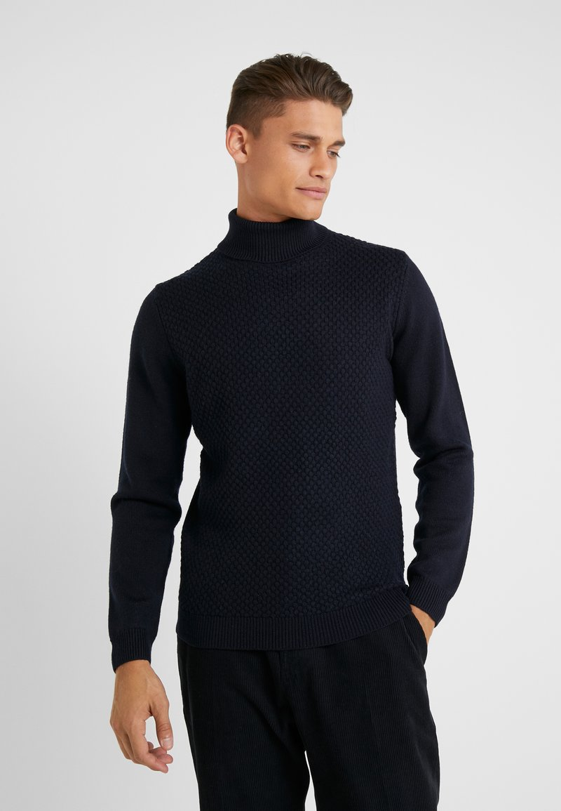 KARL LAGERFELD - ROLLNECK - Jumper - midnight blue