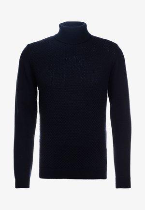 ROLLNECK - Pullover - midnight blue