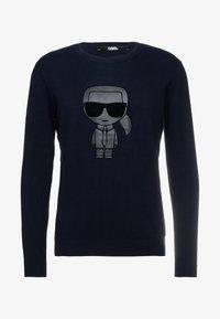 KARL LAGERFELD - Pullover - midnight blue - 3