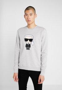 KARL LAGERFELD - ROUNDNECK - Sweatshirt - grey - 0
