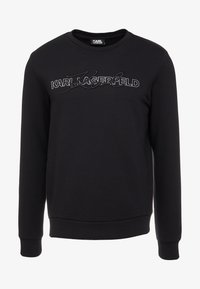 KARL LAGERFELD - CREWNECK - Sudadera - black/silver - 3