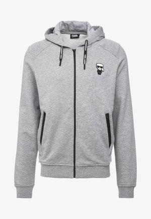 HOODY JACKET - veste en sweat zippée - grey
