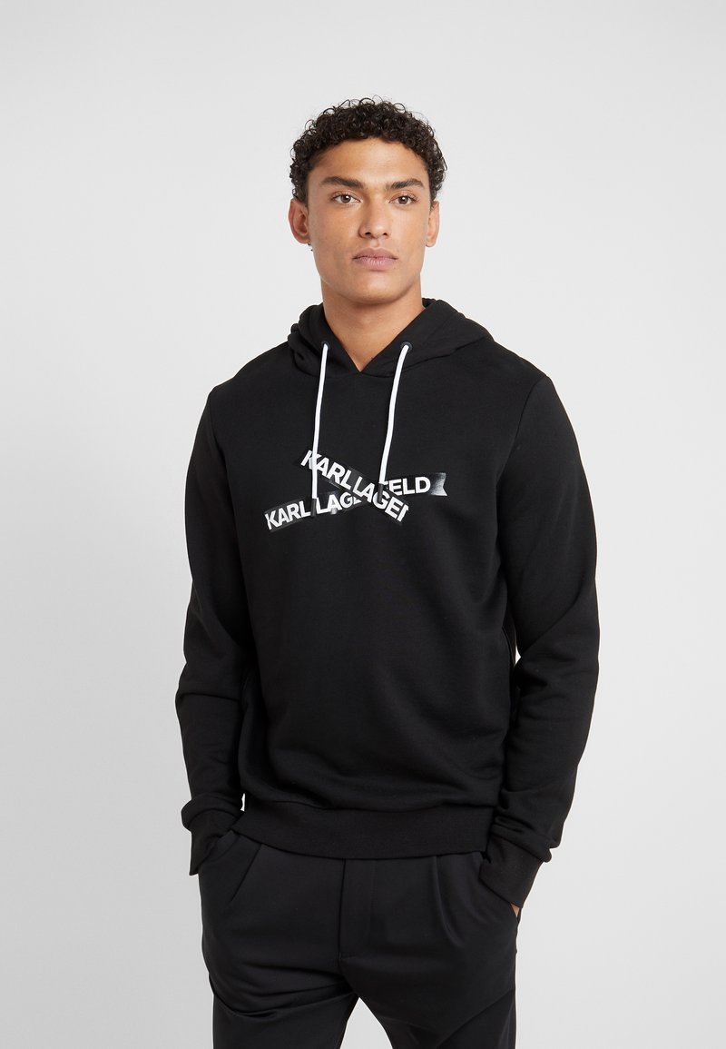 KARL LAGERFELD - HOODY - Jersey con capucha - black