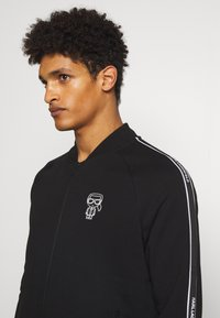 KARL LAGERFELD - ZIP JACKET - veste en sweat zippée - black - 3