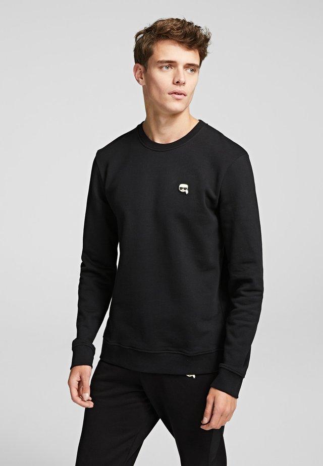 RUBBER KARL PATCH - Sweatshirts - black