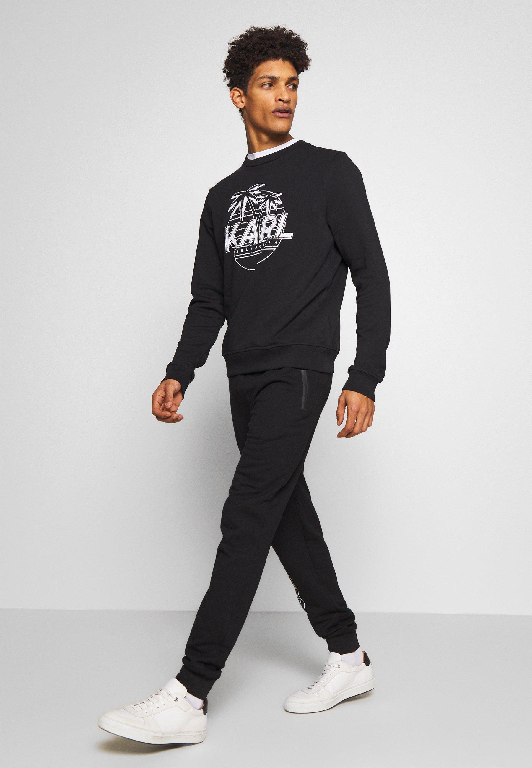 KARL LAGERFELD CREWNECK - Bluza - black