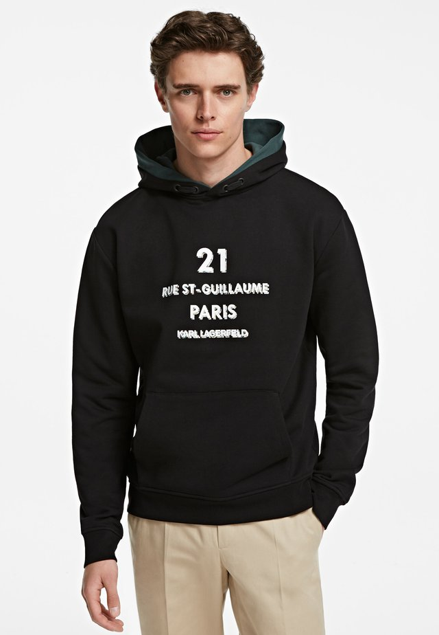 ADDRESS LOGO - Jersey con capucha - black