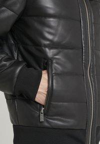 KARL LAGERFELD - Giacca di pelle - black - 7