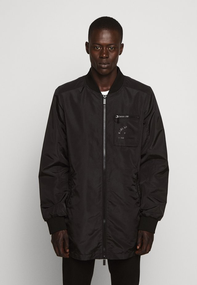 JACKET - Krátký kabát - black