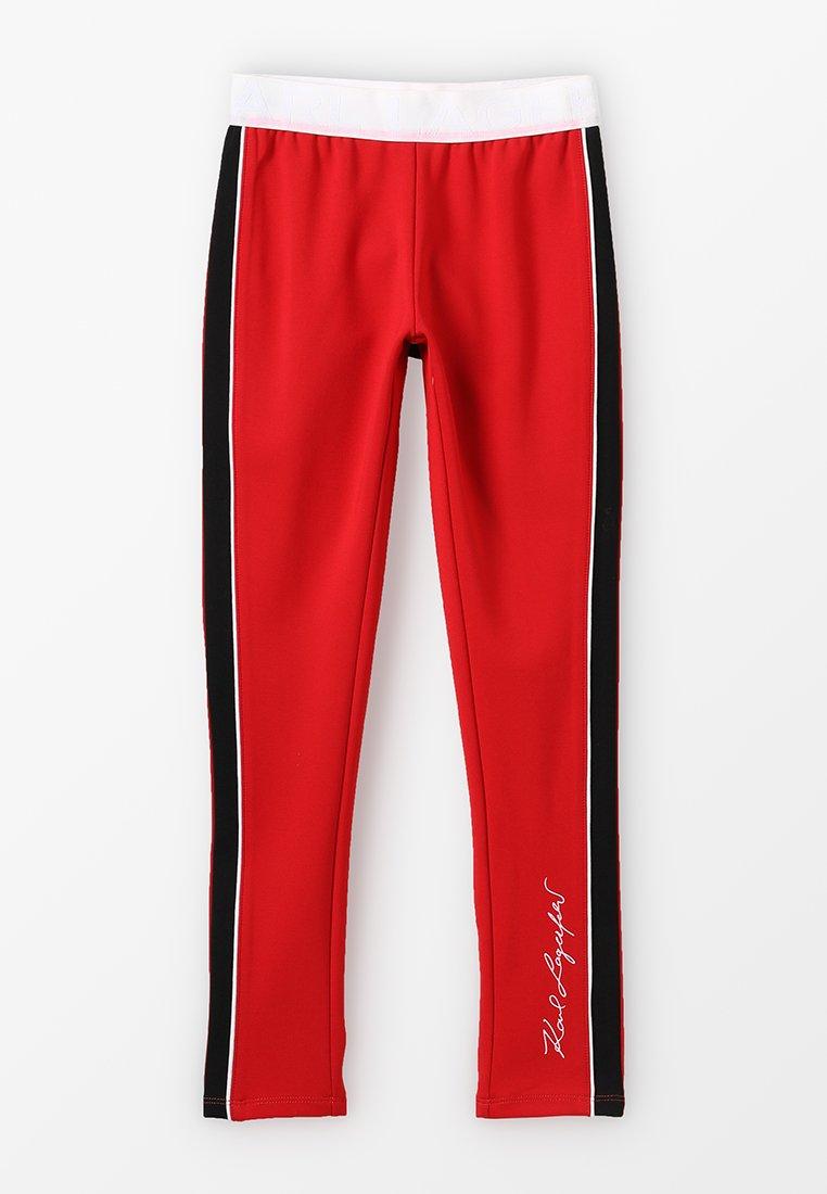 KARL LAGERFELD - Leggings - Trousers - rot