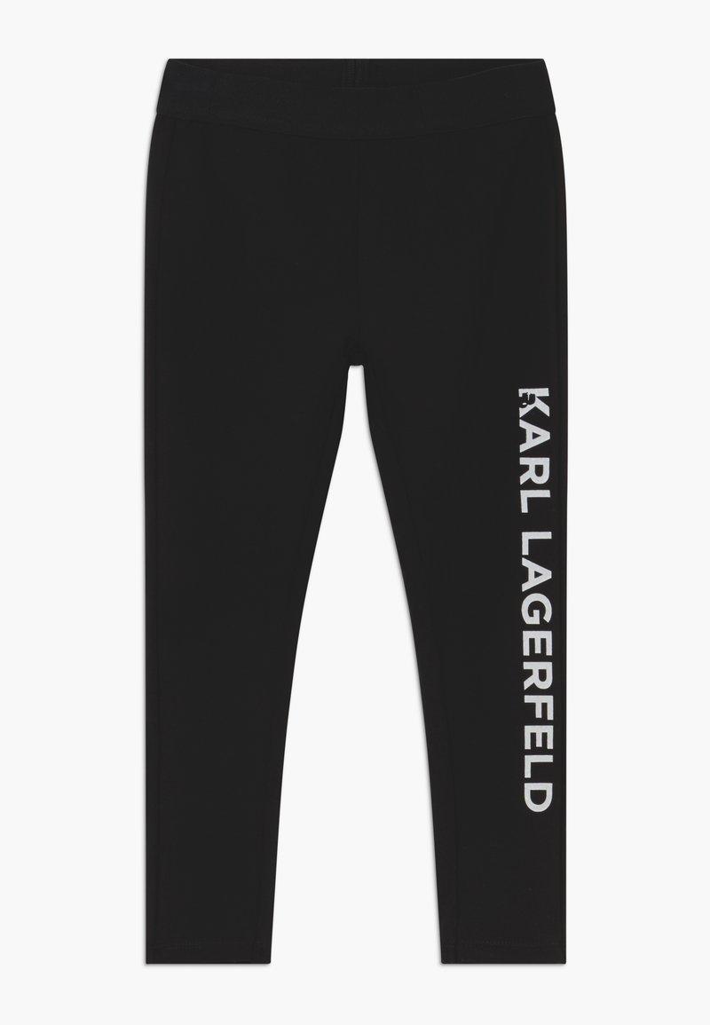 KARL LAGERFELD - Leggings - Trousers - black