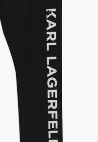 KARL LAGERFELD - Leggings - Trousers - black - 3