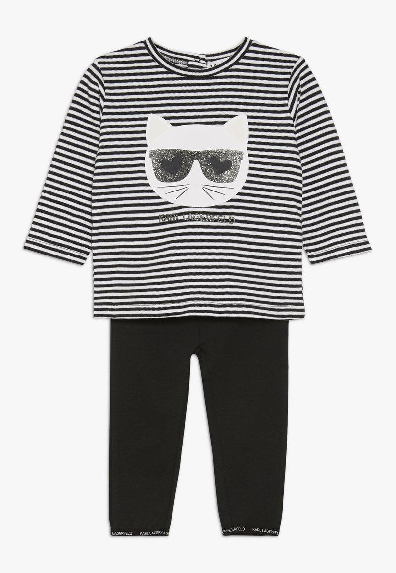 KARL LAGERFELD - Baby gifts - blanc/noir
