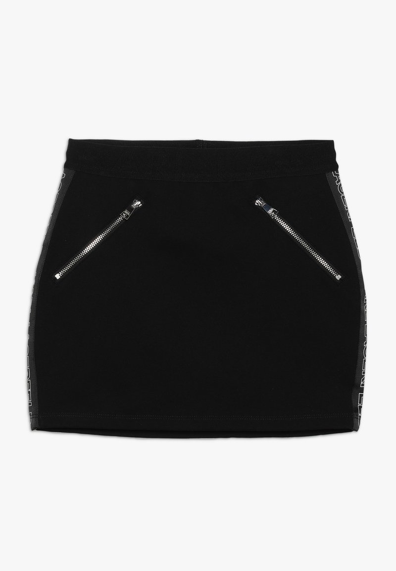 KARL LAGERFELD - Mini skirt - schwarz