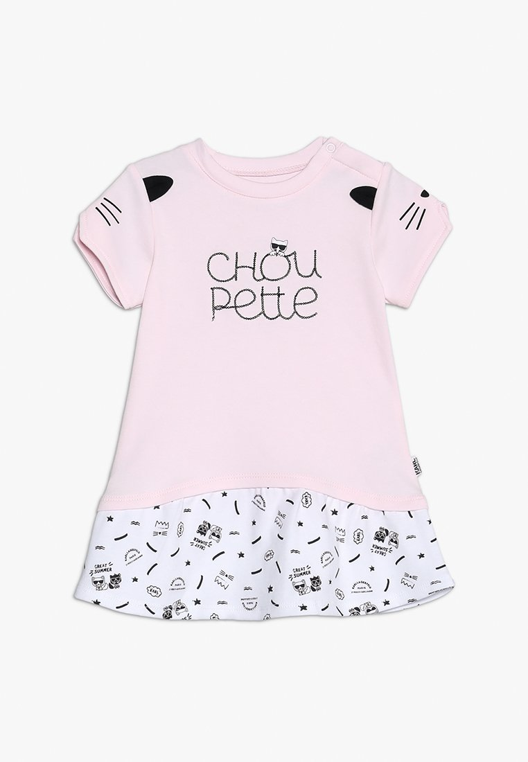 KARL LAGERFELD - BABY - Jersey dress - hell rose