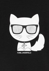 KARL LAGERFELD - Jersey dress - black - 3