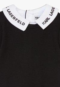 KARL LAGERFELD - DRESS BABY - Žerzejové šaty - blackwhite - 2