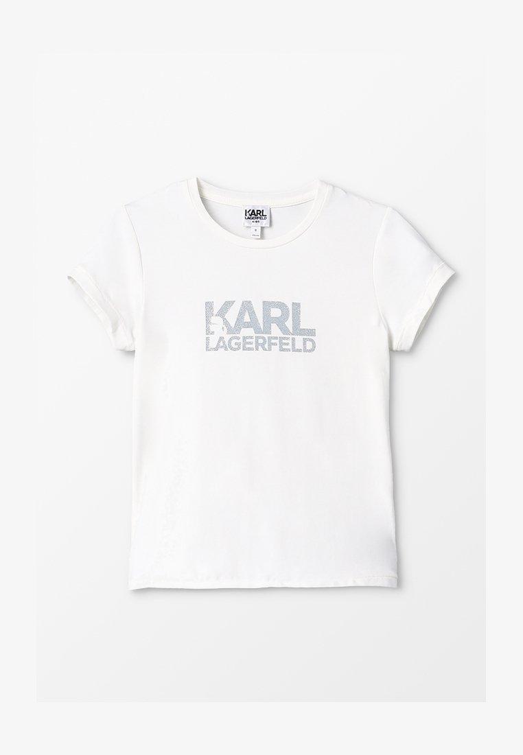 KARL LAGERFELD - T-shirt imprimé - offwhite