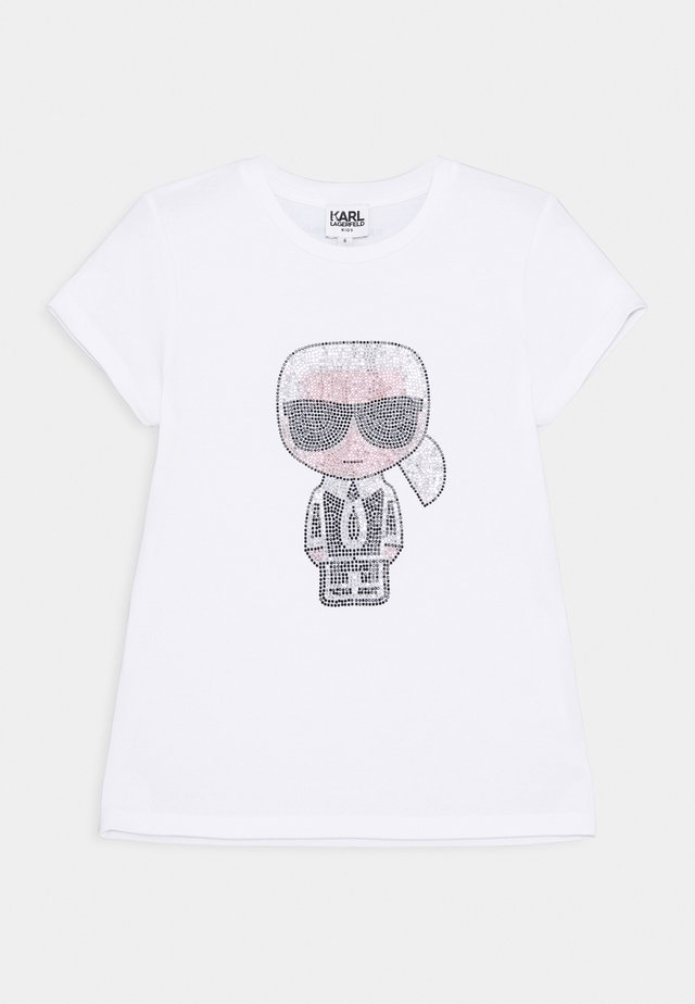 SHORT SLEEVES TEE - T-Shirt print - white