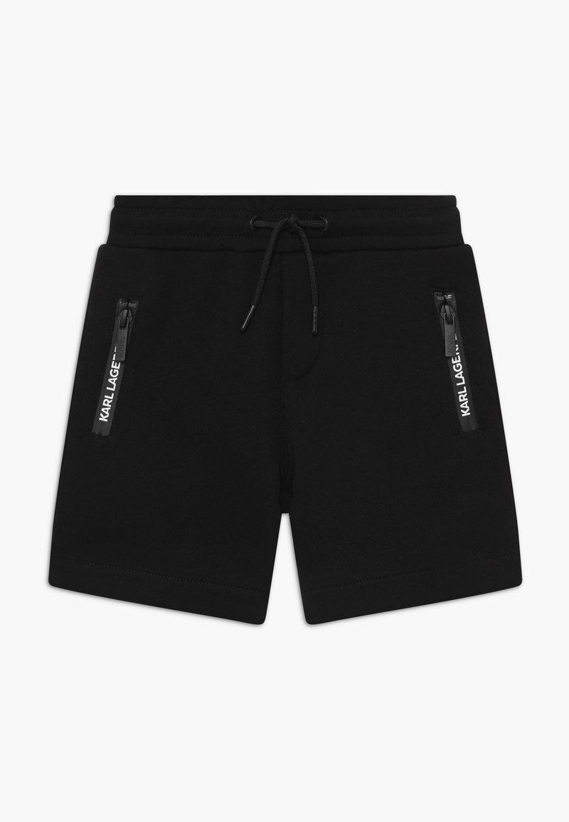 KARL LAGERFELD - Teplákové kalhoty - black